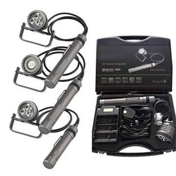 Mares Tank Tauchlampe XR Koffer